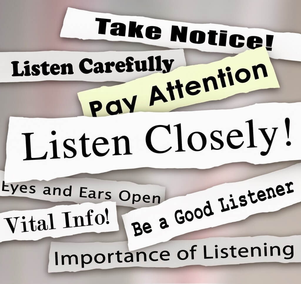 Listening,
