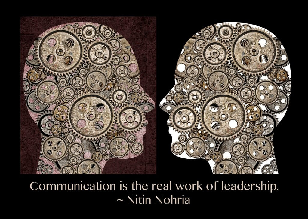 Communication is the challenge of leadership